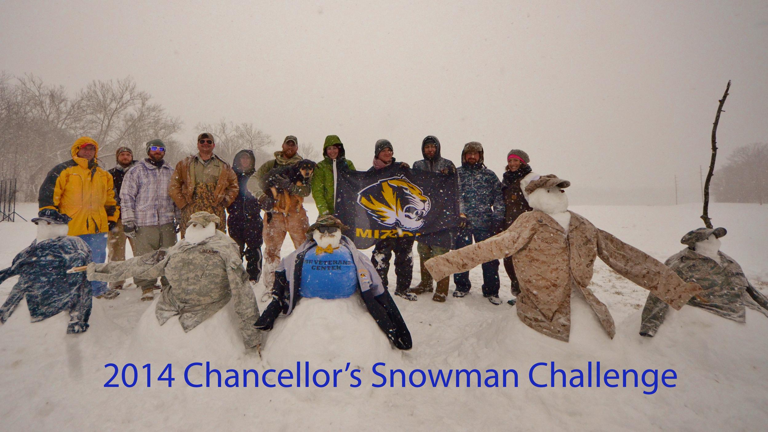 Chancellor's Snowman Challenge